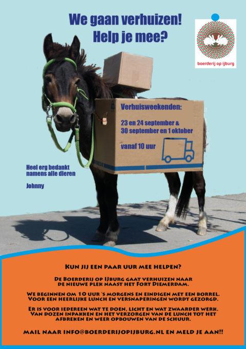 Help mee met de grootste verhuizing van IJburg!